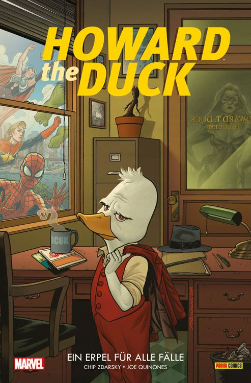 Howard the Duck 1: Ein Erpel für alle Fälle