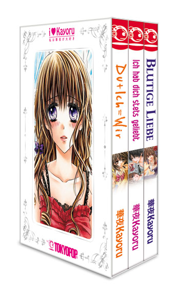 I love Kayoru Box (3 Bände im Schuber)
