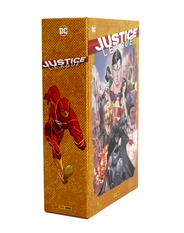 Justice League (Rebirth) Sammelschuber (inkl. eines Heftes)