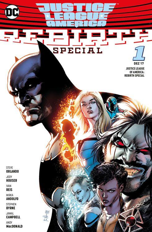Justice League America: Rebirth Special