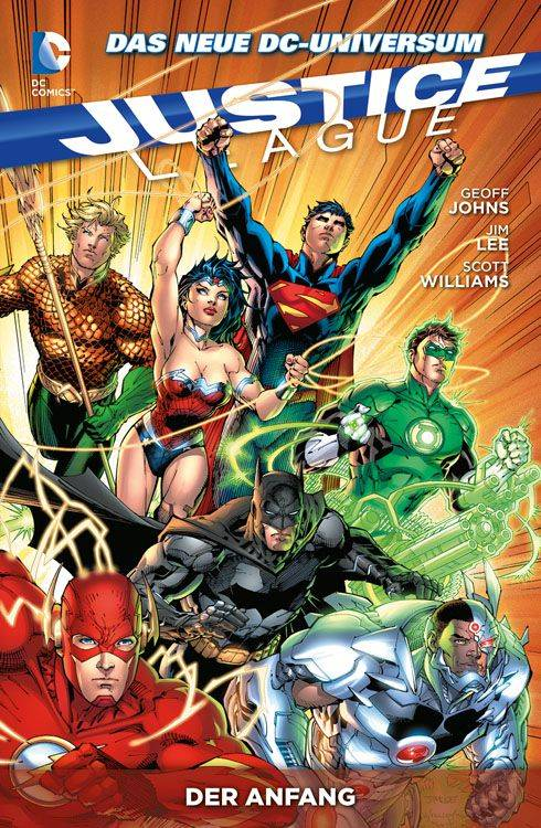 Justice League Paperback 1: Der Anfang (Softcover)
