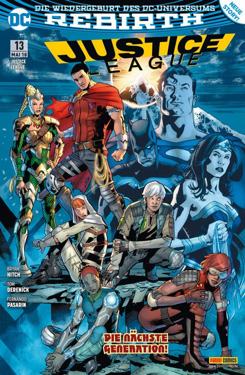Justice League (Rebirth) 13