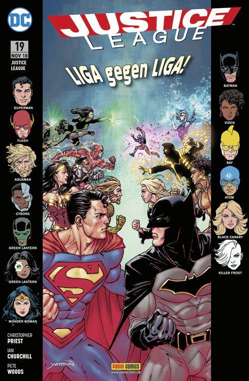 Justice League (Rebirth) 19