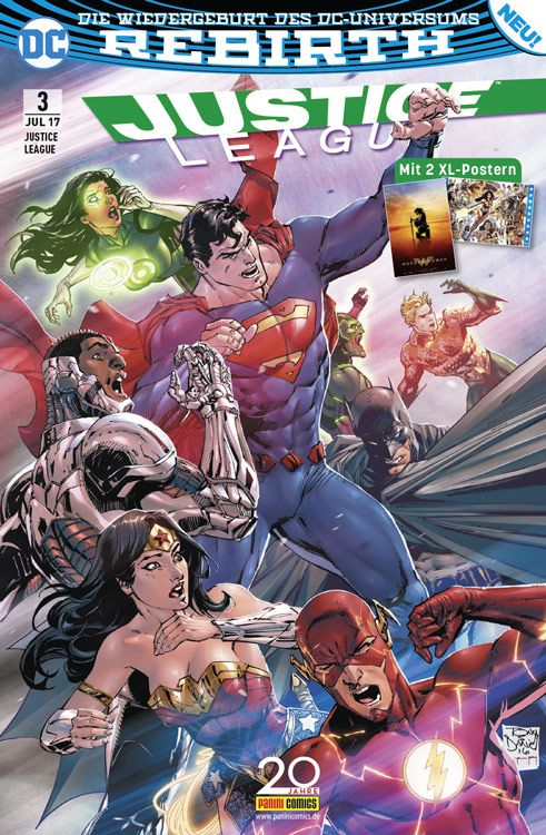 Justice League (Rebirth) 3