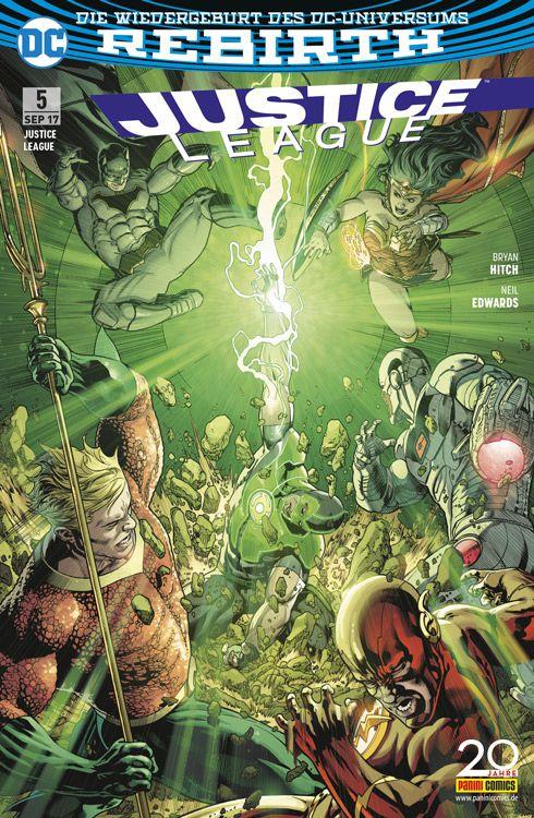 Justice League (Rebirth) 5