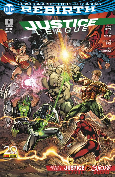 Justice League (Rebirth) 6