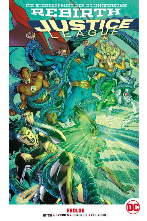 Justice League (Rebirth) Paperback 4: Endlos (Hardcover)