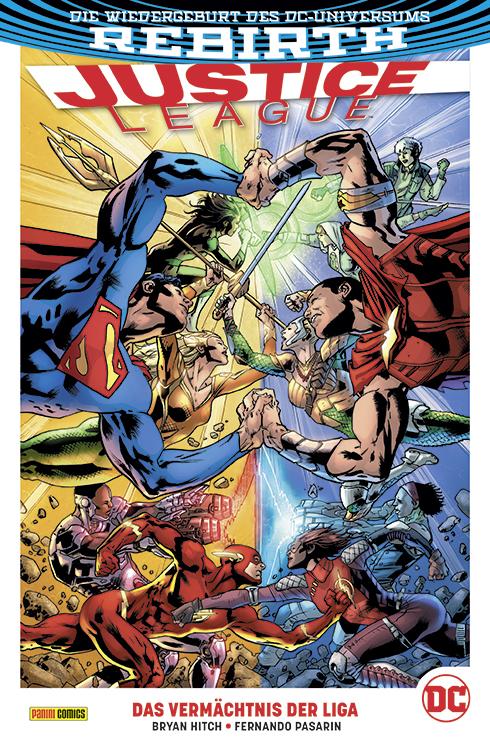 Justice League (Rebirth) Paperback 5: Das Vermächtnis der Liga