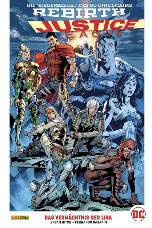 Justice League (Rebirth) Paperback 5: Das Vermächtnis der Liga (Hardcover)