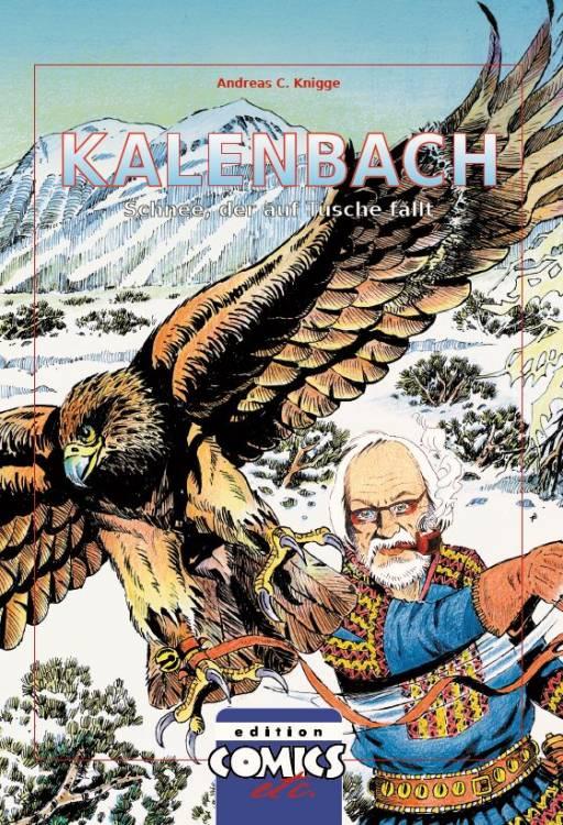 Kalenbach - Schnee, der auf Tusche fällt