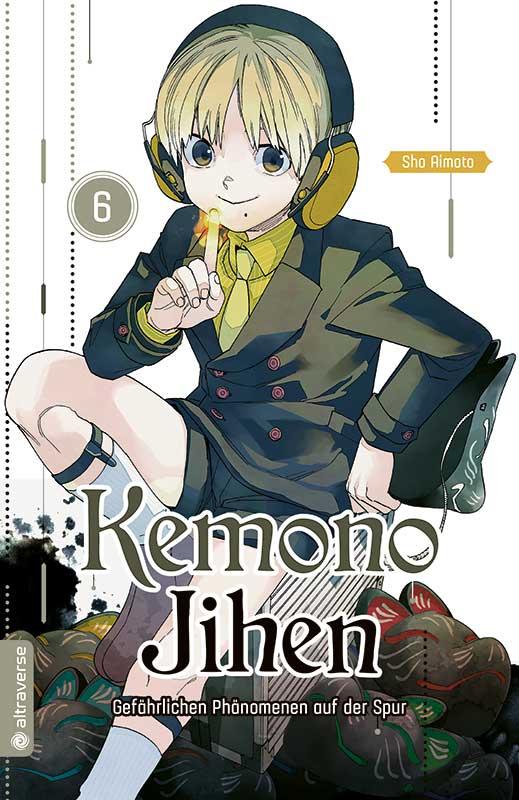 Kemono Jihen – Gefährlichen Phänomenen auf der Spur Band 6