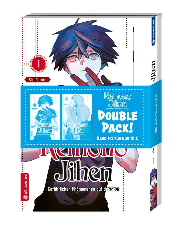 Kemono Jihen – Gefährlichen Phänomenen auf der Spur Double Pack (Band 1+2)
