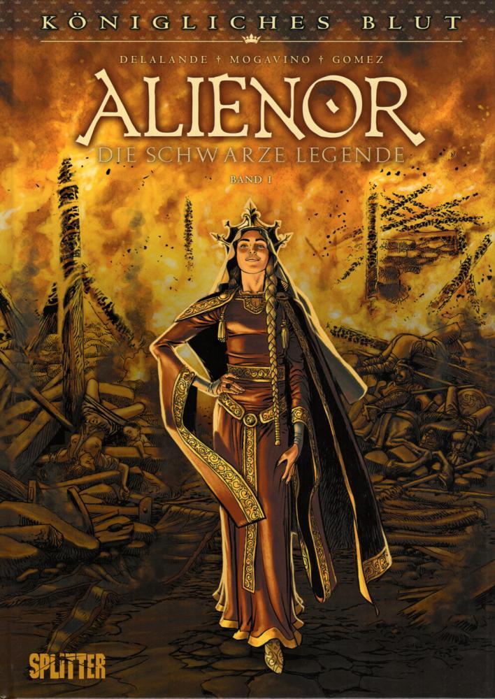 Königliches Blut 3: Alienor - Die schwarze Legende I