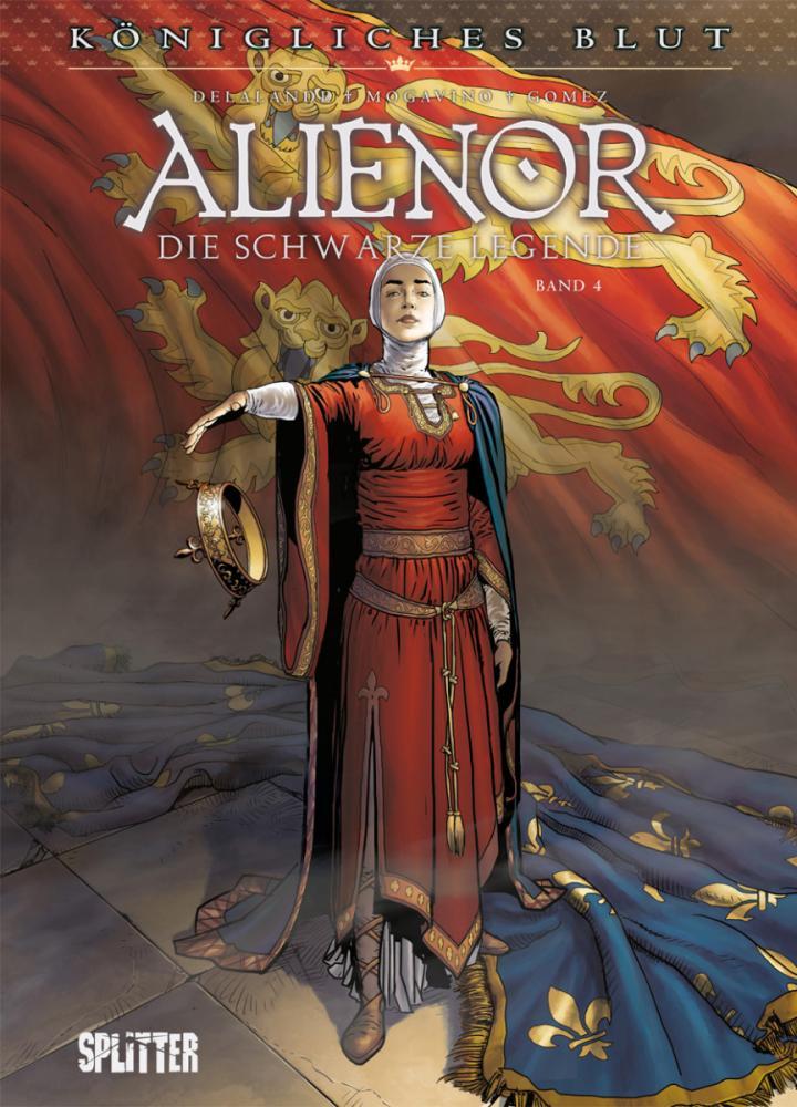 Königliches Blut Alienor - Die schwarze Legende IV