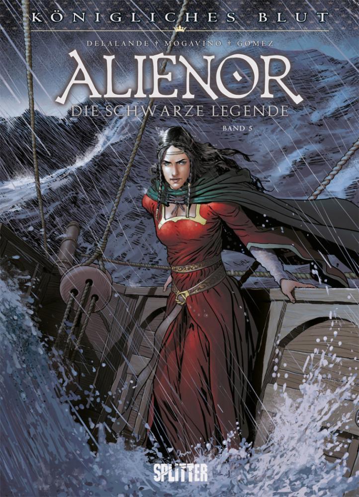 Königliches Blut Alienor - Die schwarze Legende V