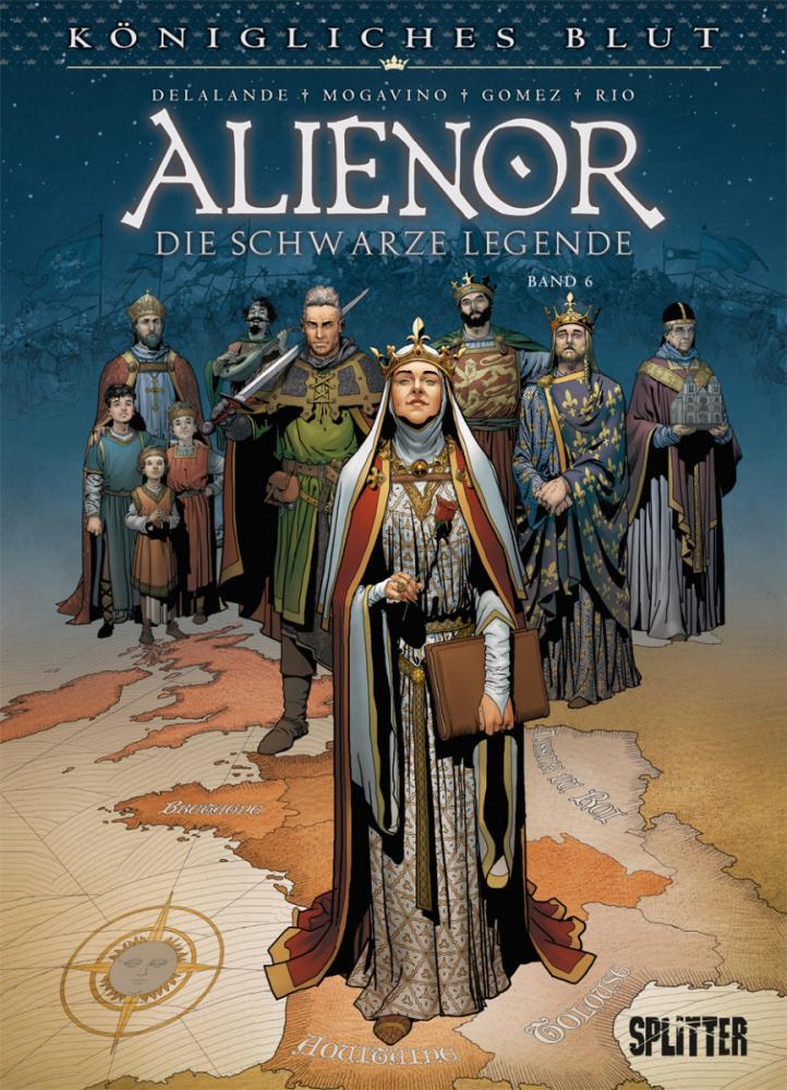 Königliches Blut 8: Alienor - Die schwarze Legende VI