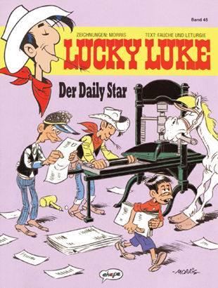 Lucky Luke (HC) 45: Der Daily Star