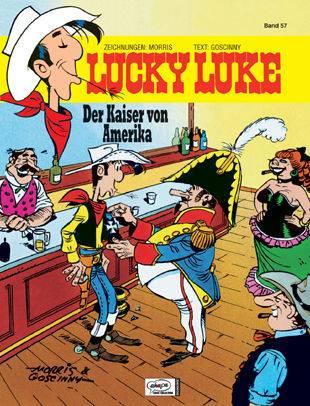 Lucky Luke (HC) 57: Der Kaiser von Amerika