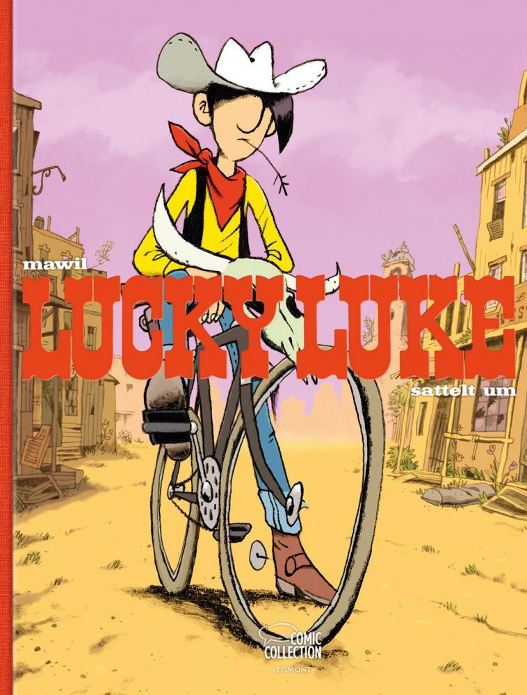 Lucky Luke (HC) Lucky Luke sattelt um (Hommage) Vorzugsausgabe
