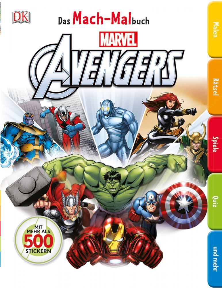 MACH-MALbuch: Marvel Avengers