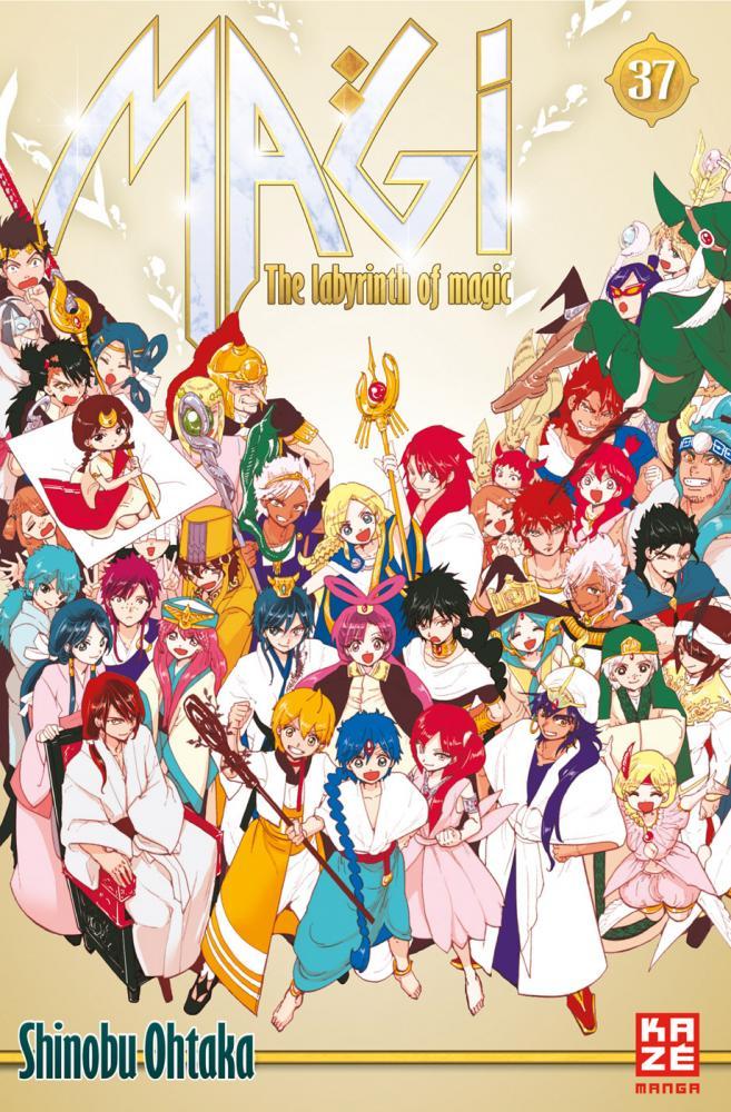 Magi - The Labyrinth of Magic Band 37