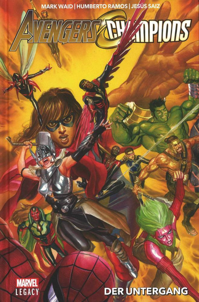Avengers/Champions (Marvel Legacy) 1: Der Untergang (Hardcover)