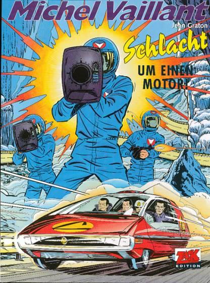 Michel Vaillant 21: Schlacht um einen Motor!