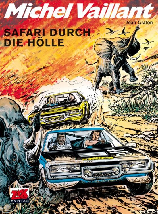 Michel Vaillant 27: Safari durch die Hölle