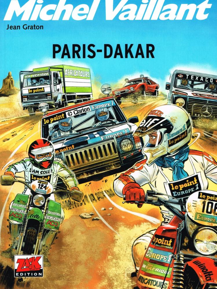 Michel Vaillant 41: Paris-Dakar