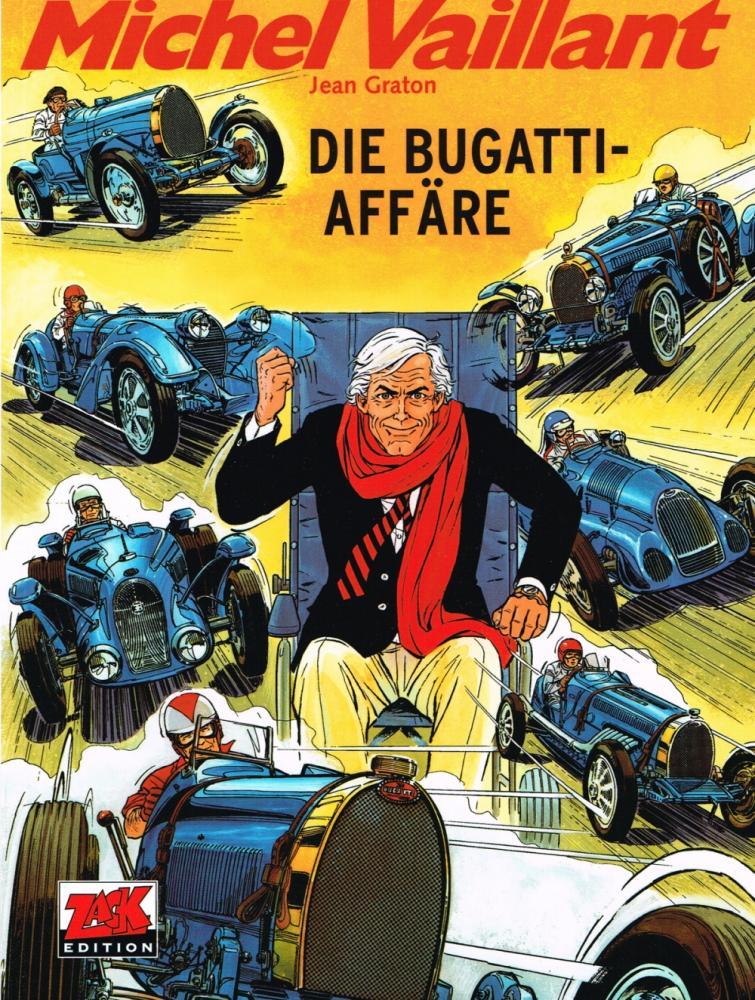 Michel Vaillant 54: Die Bugatti-Affäre