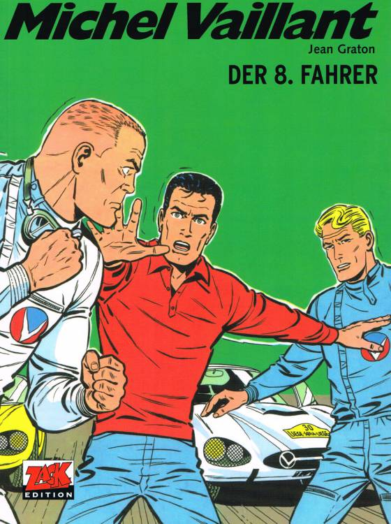 Michel Vaillant 8: Der 8. Fahrer