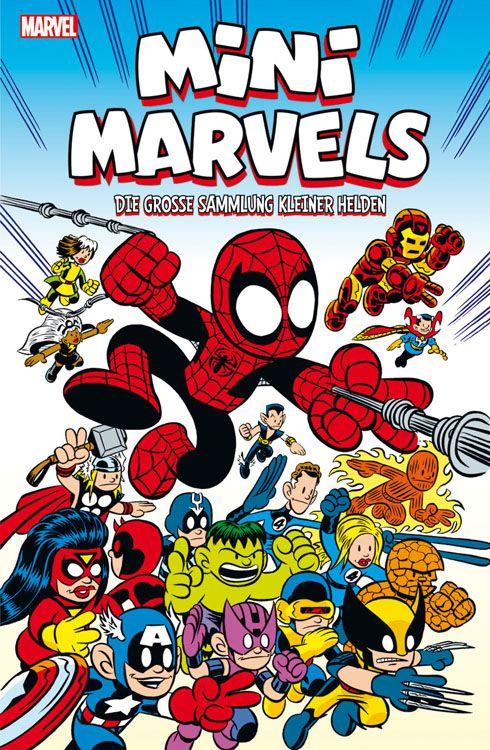 Mini Marvels - Die große Sammlung kleiner Helden Softcover