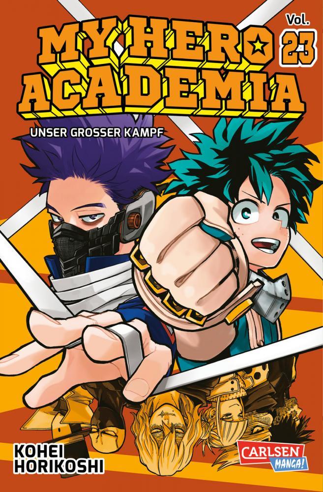 My Hero Academia 23: Unser großer Kampf