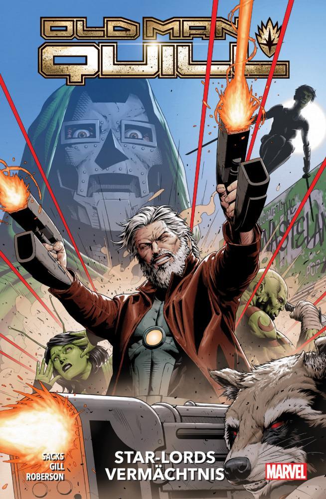 Old Man Quill 1: Star-Lords Vermächtnis