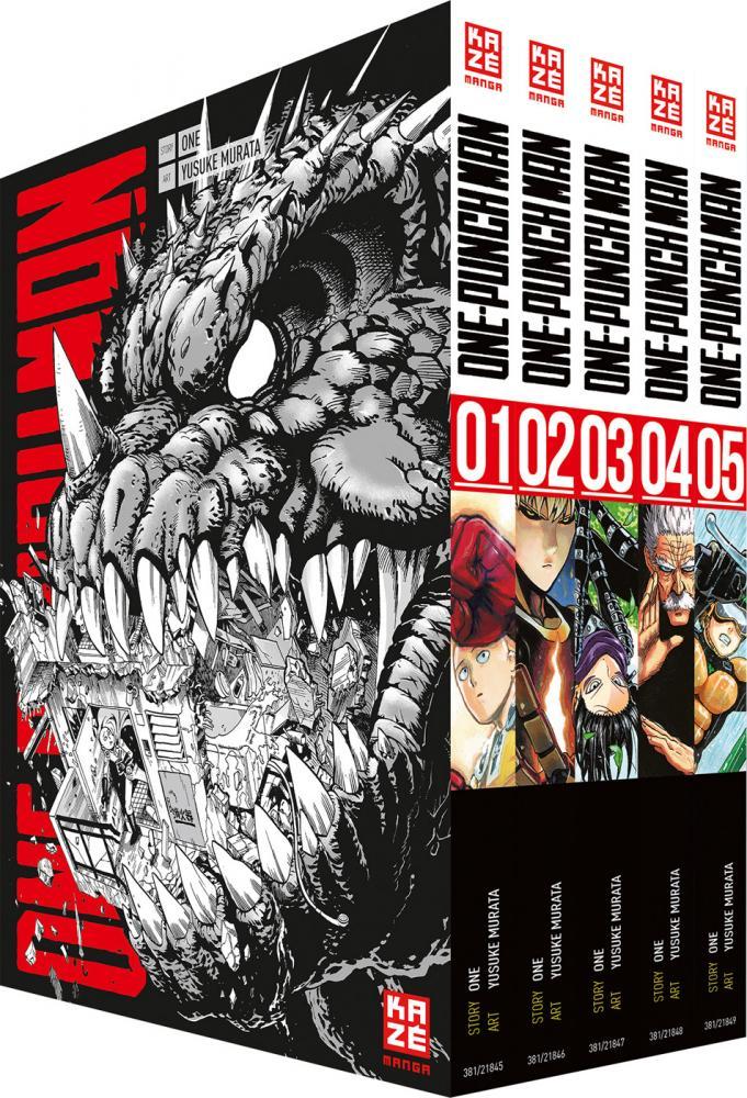 One-Punch Man Band 1-5 (im Sammelschuber)