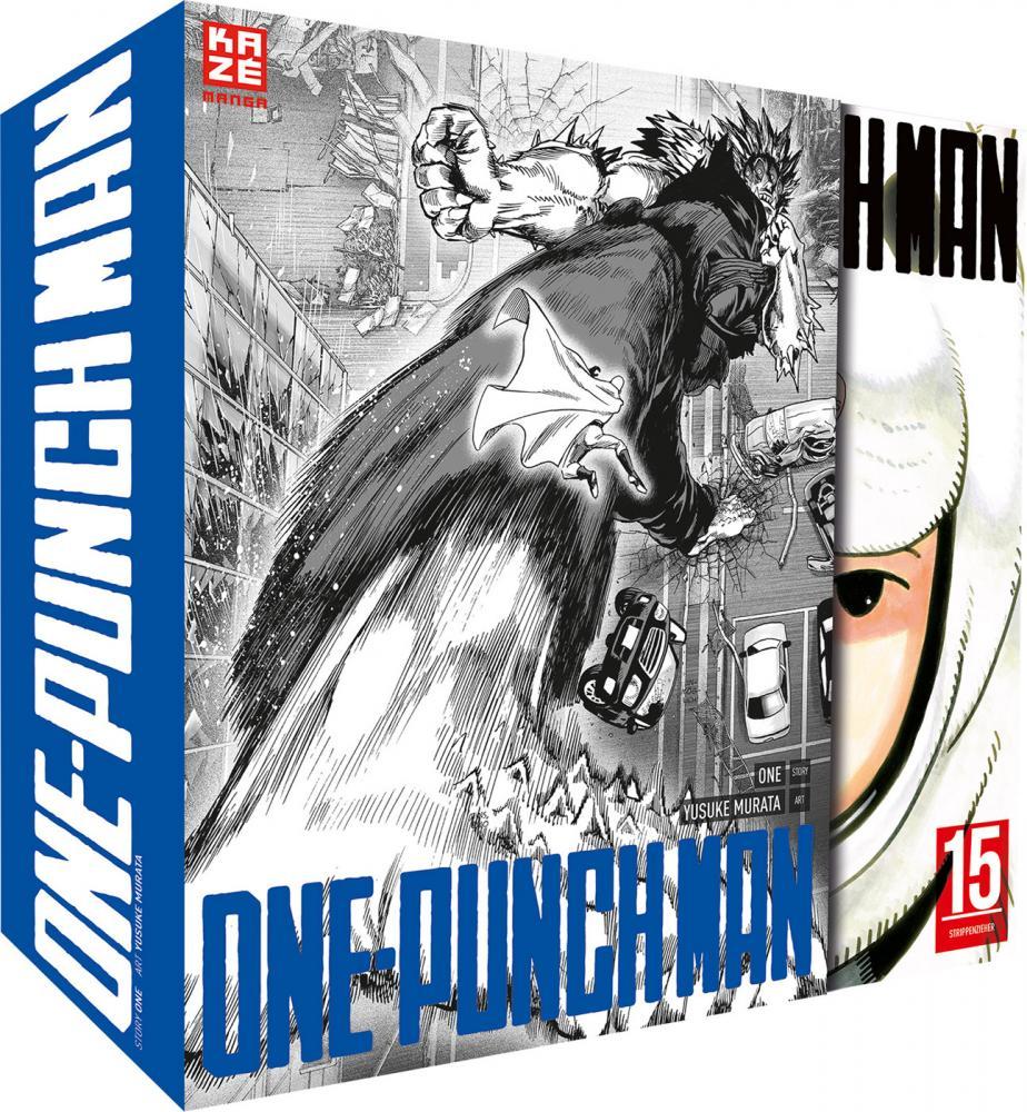 One-Punch Man 15: Strippenzieher (mit Sammelschuber)