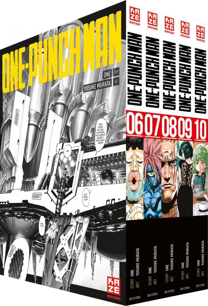 One-Punch Man Band 6-10 (im Sammelschuber)