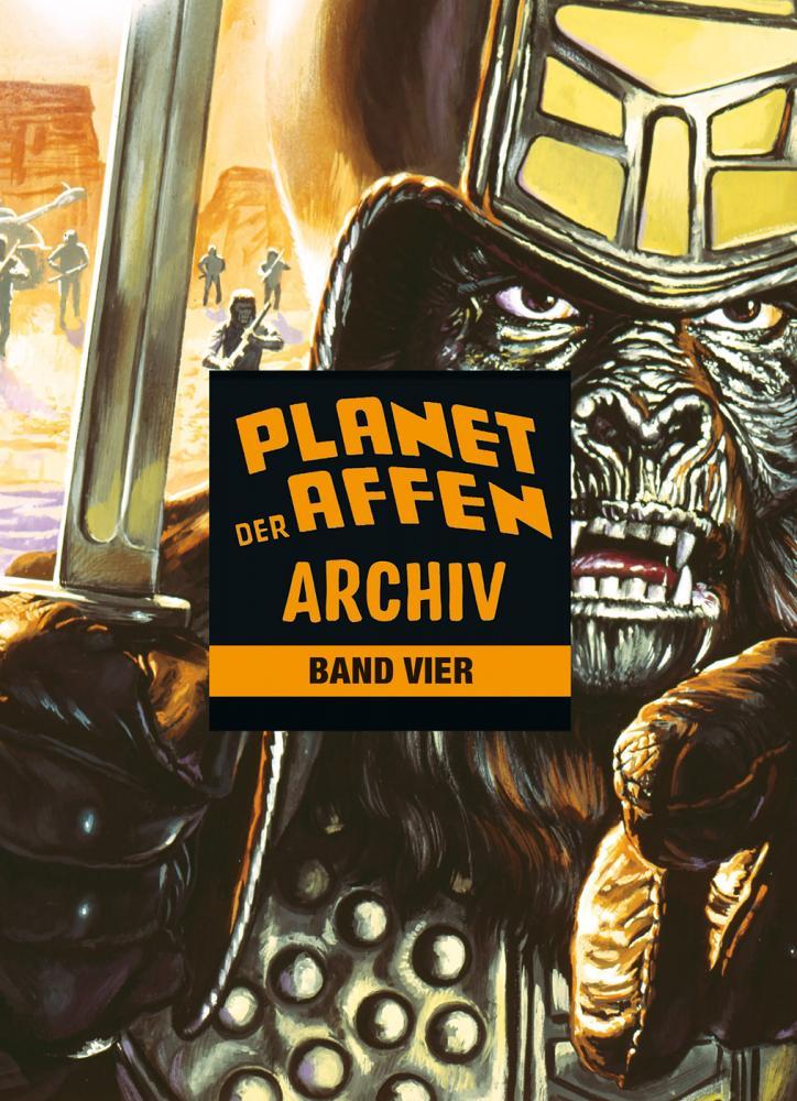 Planet der Affen Archiv Band 4