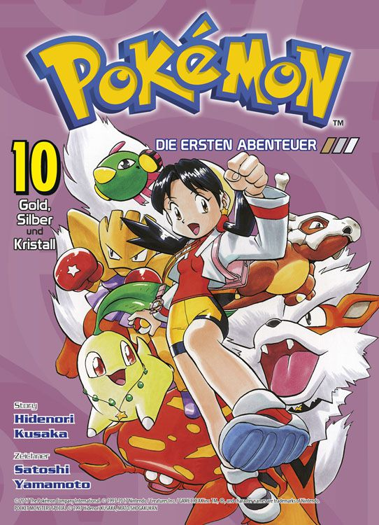 Pokémon - Die ersten Abenteuer 10: Gold, Silber und Kristall