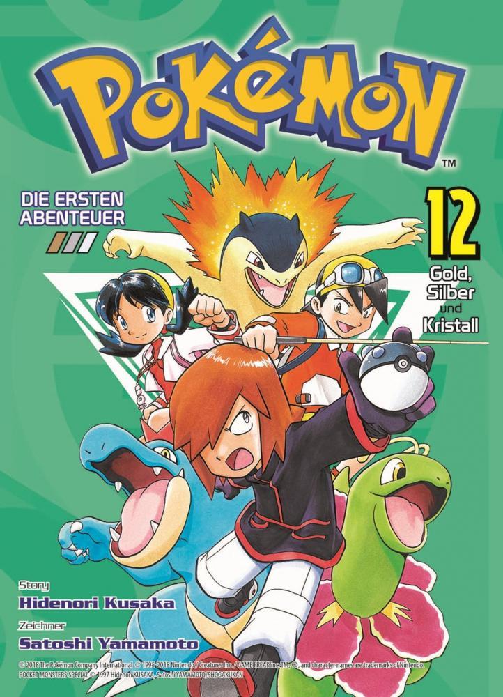 Pokémon - Die ersten Abenteuer 12: Gold, Silber und Kristall