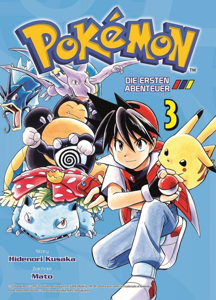 Pokémon - Die ersten Abenteuer Band 3