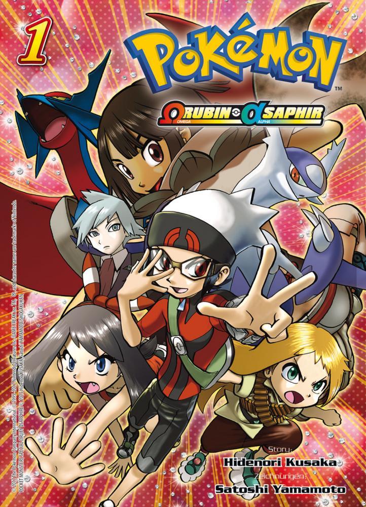 Pokémon - Omega Rubin und Alpha Saphir Band 1