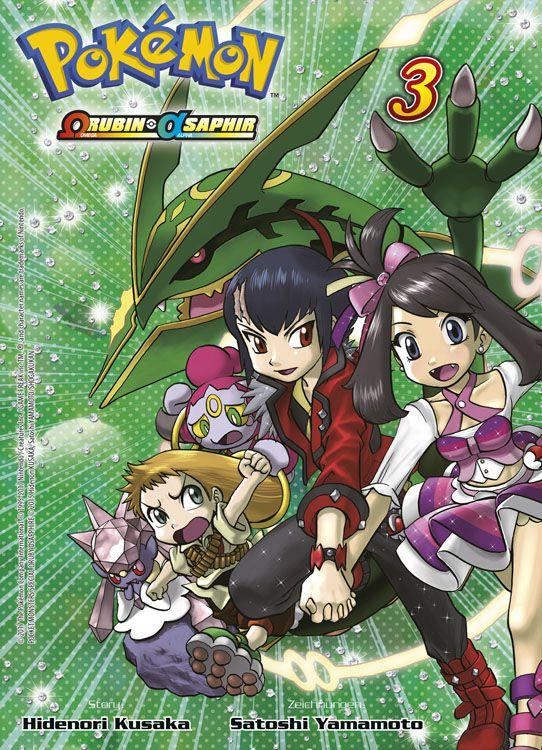 Pokémon - Omega Rubin und Alpha Saphir Band 3
