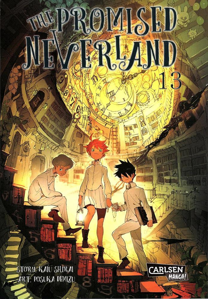 Promised Neverland Band 13