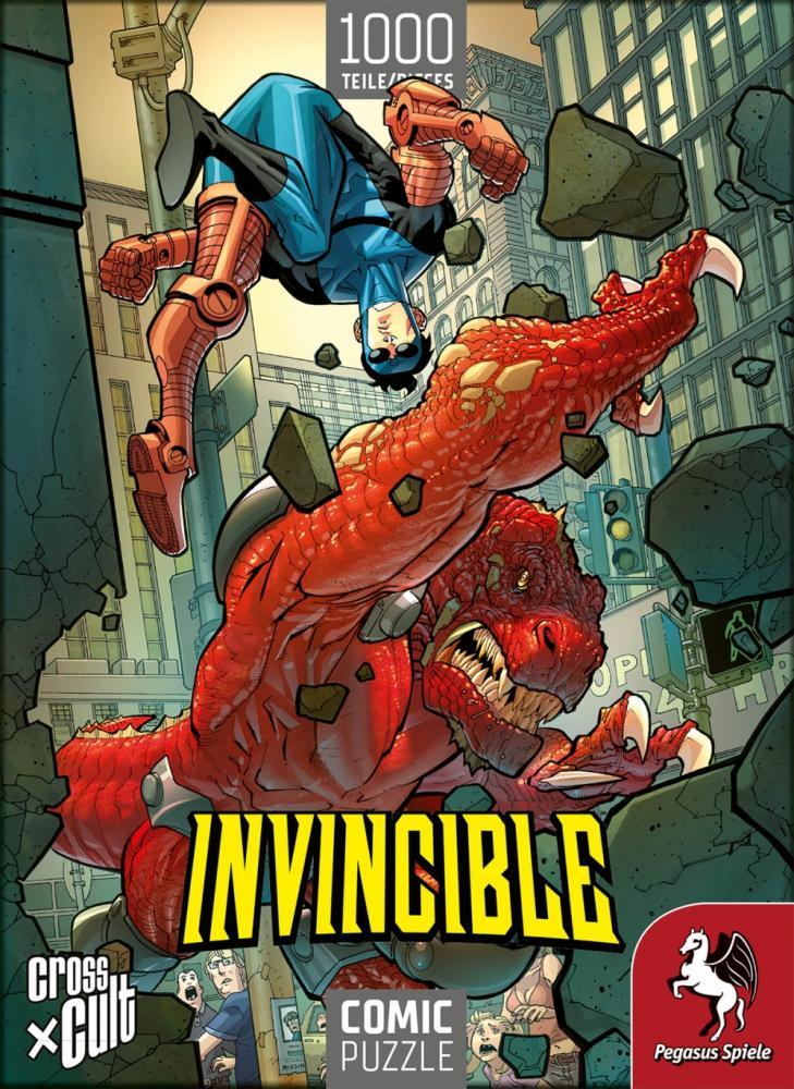 Comic-Puzzle: Invincible vs. Dinosaurus
