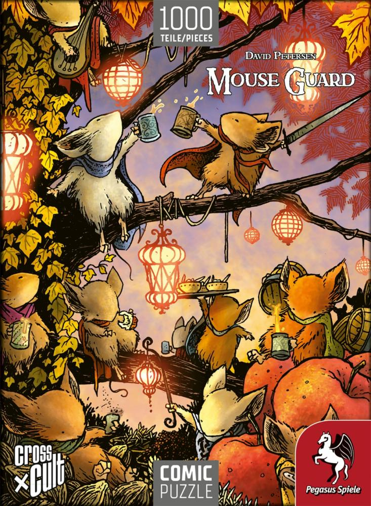 Comic-Puzzle: Mouse Guard