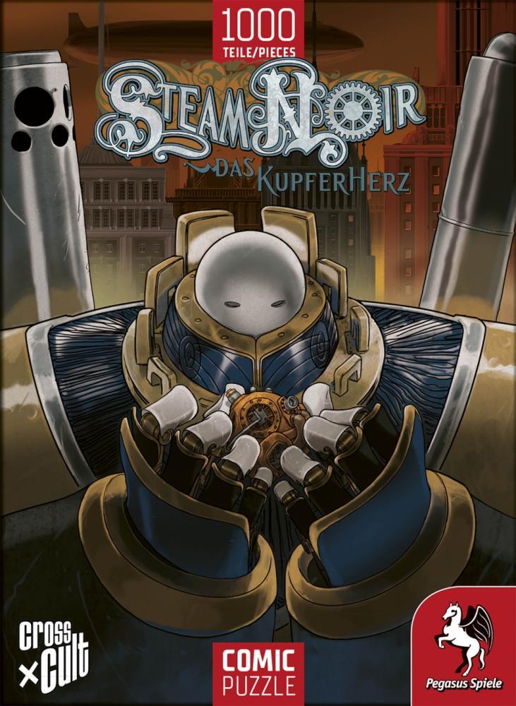 Comic-Puzzle: Steam Noir