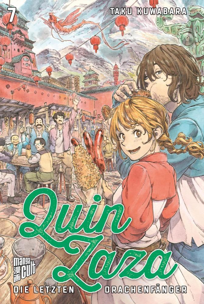 Quin Zaza - Die letzten Drachenfänger Band 7