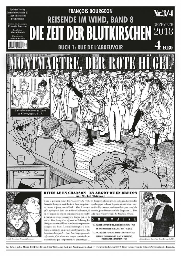 Reisende im Wind 8: Die Zeit der Blutkirschen - Journal 3: Montmartre, der rote Hügel