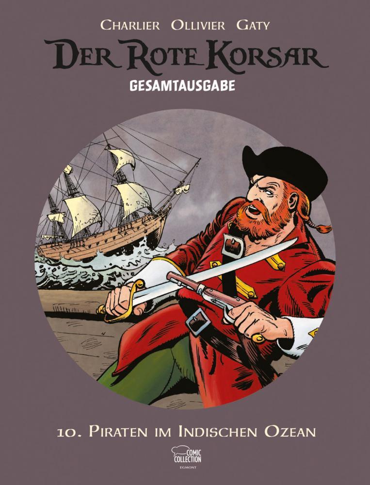 Rote Korsar Gesamtausgabe 10: Piraten im Indischen Ozean